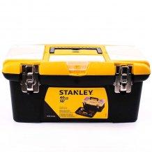 Ящик для инструментов Stanley Джамбо 40 см, металлические замки (1-92-905)