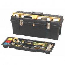 """Ящик для инструментов Stanley 26"""" с отсеком для уровня (1-92-850)"""
