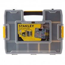 Ящик органайзер Stanley Sort Master Junior, с переставными перегородками (1-97-483)