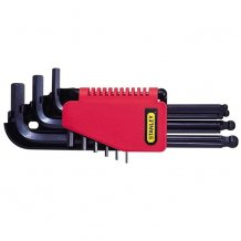 Набор ключей Stanley 6-ти гранных 9 ед. 1,5-10 мм. (0-69-256)