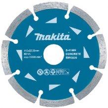 Алмазный диск Makita 125х22,23 (D-41595)