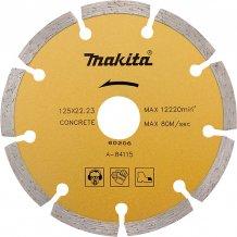 Алмазный диск Makita 125х22,23 (A-84115)