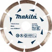 Алмазный диск Makita 125х22,23 (D-52766)