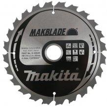 Пильный диск Makita по дереву MAKBlade 216x30 мм 24T (B-08903)