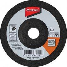 Гибкий шлифовальный диск Makita 100x3x16 80T для нерж. стали (B-18493)