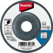 Гибкий шлифовальный диск Makita 100х2 60Т по металлу (A-85139)