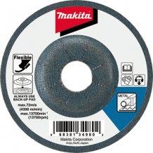 Гибкий шлифовальный диск Makita 115х3 60Т по металлу (B-18297)