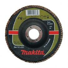 Лепестковый шлифовальный диск Makita 125х22,23 К120, карбид кремния (P-65361).